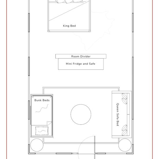 Nodding Onion Floorplan